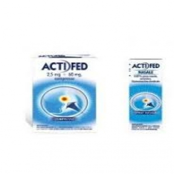 Actifed compresse e spray