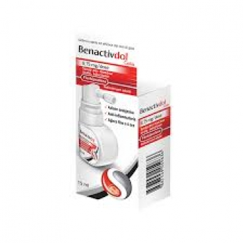 Benactivdol gola spray